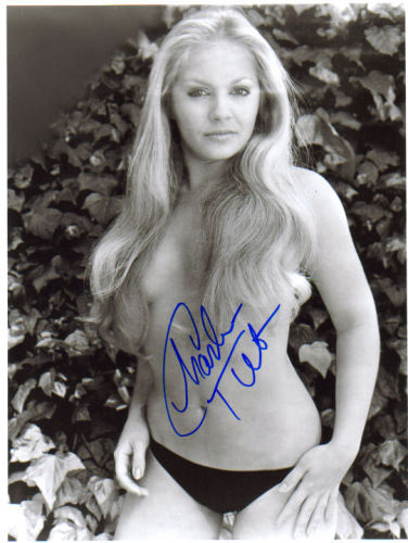 CHARLENE TILTON HOT & TOPLESS SIGNED PHOTO - WHEW!