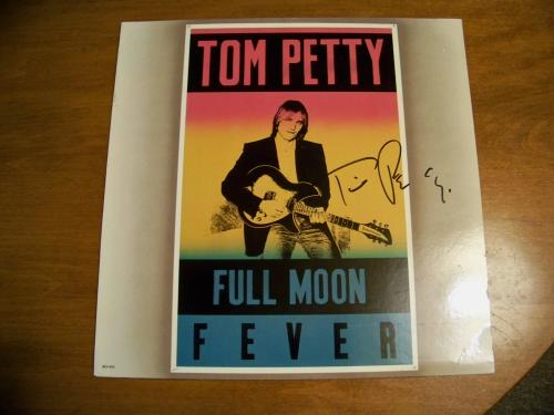 album tom petty full moon fever. Tom Petty #39;Full Moon Fever#39; (1989) Autographed Album! Listing Details