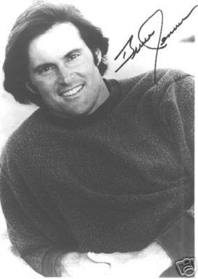 Bruce Jenner Olympic Champion Signed Photo!