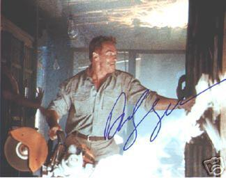 Arnold Schwarzenegger 'Terminator' Signed Photo!