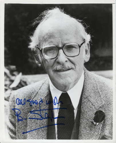 Barnhard Hughes (1915-2006) Vintage 'Doc Hollywood' Autographed Photo!