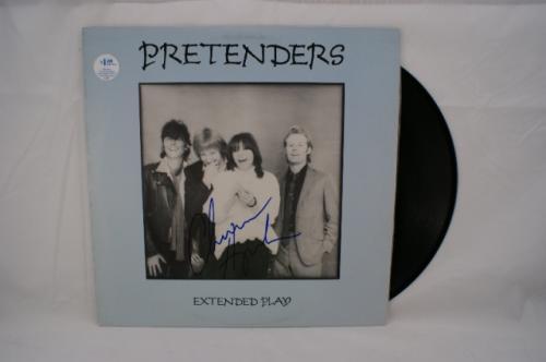 Chrissie Hynde 'The Pretenders' Autographed Album - Uncommon!