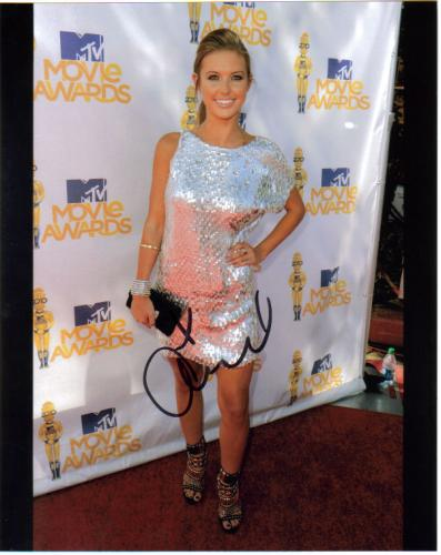 Audrina Patridge at the 'MTV Movie Awards' Great Signed Photo!
