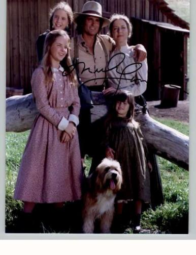 Michael Landon 'Little House On The Prairie' Rare Signed Photo!