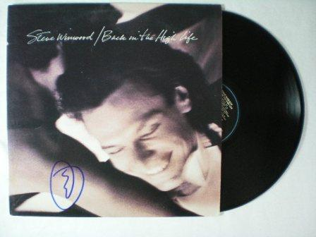 Steve Winwood Awesome 'Back In The High Life' Signed Record Album - Lp Included!