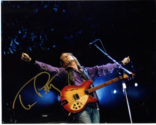 Tom Petty Awesome On Stage Signed Photo!