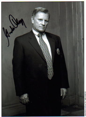 Gordon Clapp 'N.Y.P.D. Blue' Signed Photo!