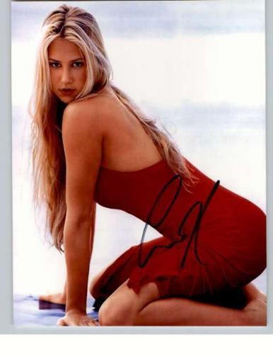 Anna Kournikova Super Hot Signed Photo - Whew!