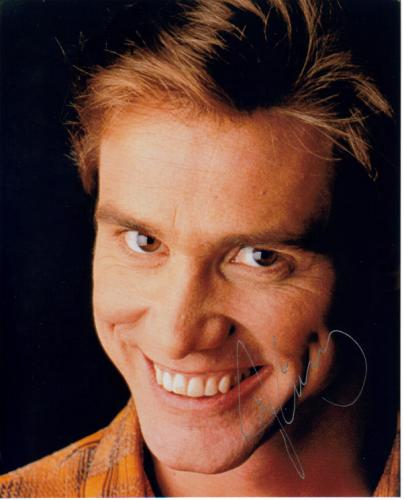 Jim Carrey Awesome Signed Photo!