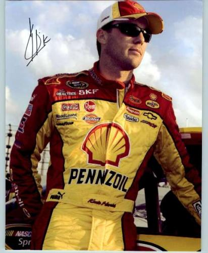 Kevin Harvick Nascar Signed Photo - Pose #1