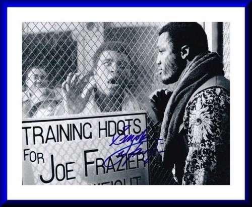 Smokin' Joe Frazier (1944-2011) Awesome Autographed Photo!