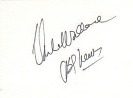Mike Wallace 'CBS News' Uncommon Signed Index Card!