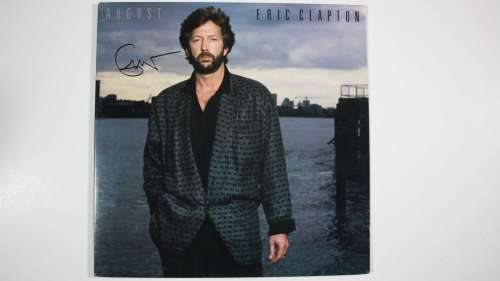 Eric Clapton Super Difficult Signer Autographed Album Cover (No LP) - COA!