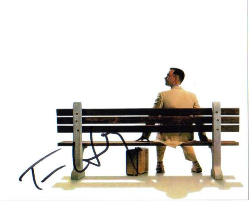 Tom Hanks Vintage 'Forrest Gump' Autographed Photo - Cool!