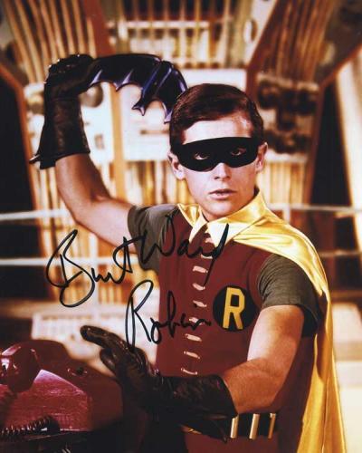 Burt Ward 'Robin' From 'Batman' Signed Photo #3