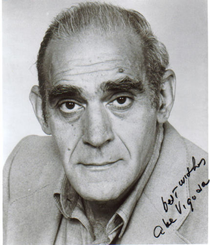 Abe Vigoda 'Barney Miller' Uncommon Signed Photo!