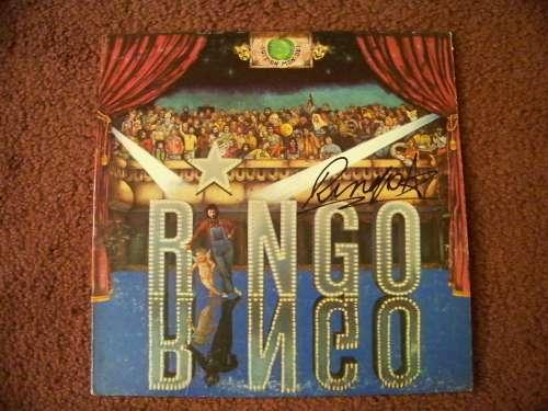 Ringo Starr 'Duit on Mon Dei' Vintage (1973) Autographed Album Cover - Rare!