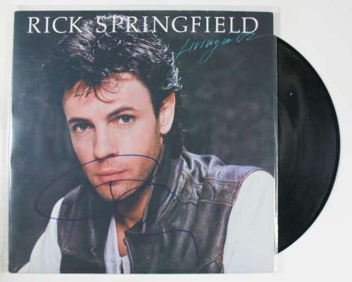 Rick Springfield Vintage Autographed Album Cover with LP!