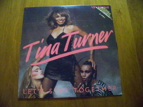 Tina Turner 'Let's Stay Together' Signed Album - LP Included!