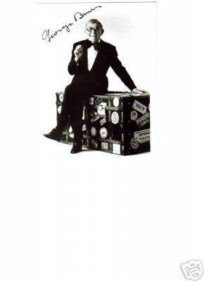 George Burns Vintage Signed 5X7 Photo!