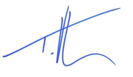 Tim McGraw Boldly Signed Index Card!