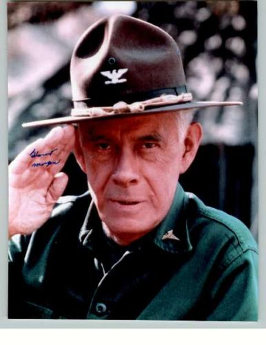 Harry Morgan 'Mash' Colonel Potter Signed Photo!