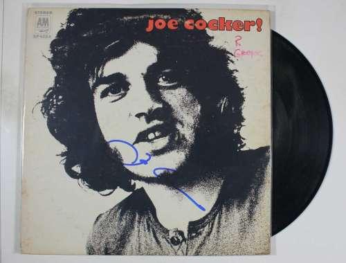 Joe Cocker Vintage (1969) Autographed Album Cover with LP!