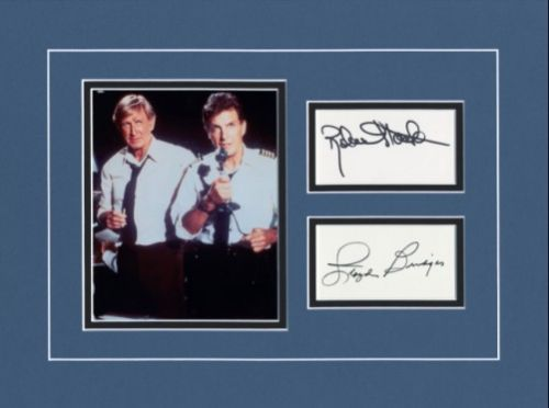 Airplane' Vintage Signed Photo Ensemble By Stack And Bridges!