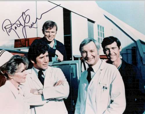 Robert Fuller Vintage Autographed Photo from 'Emergency'