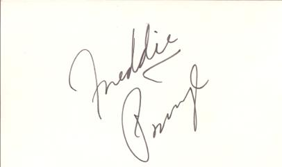 Freddie Prinze (1954-1977) Rare Signed 3X5 Index Card From 'Chico And The Man'!