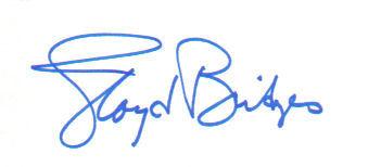 Lloyd Bridges (Deceased) Vintage Autographed Index Card!
