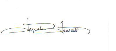 Farrah Fawcett Very Uncommon Signed Index Card!