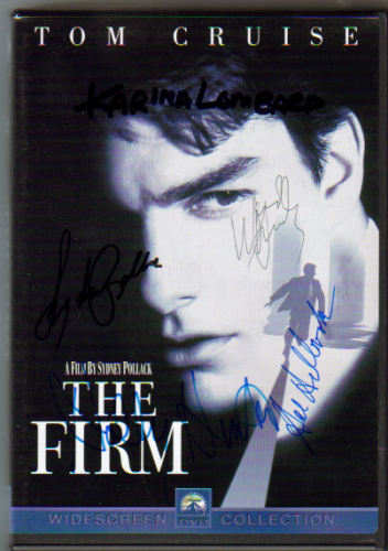 The Firm Awesome Signed By 5 DVD (DVD Included)