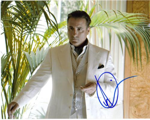 Andy Garcia Absolutely Incredible Signed Photo - Wow!