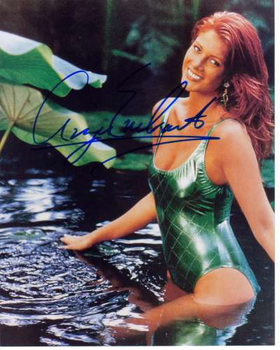 Angie Everhart Super Sexy Swimsuit Signed Photo - Ouch!