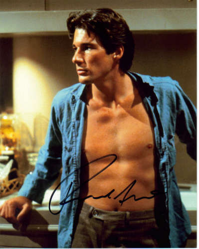 Richard Gere Super Sexy Autographed Photo - Smokin!