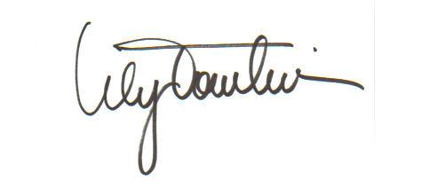 Lily Tomlin 'Laugh-In' Signed Index Card!