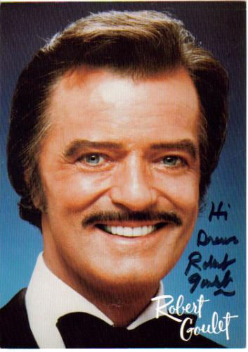 Robert Goulet Great Signed & Inscribed 5X7 Photo!