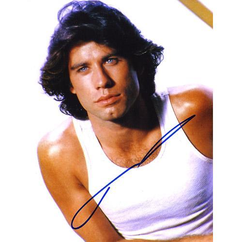 John Travolta Super Sexy & Young Signed Photo - Nice!