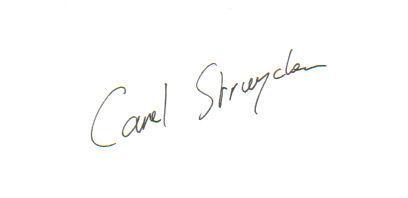 Carel Struycken Signed Index Card!