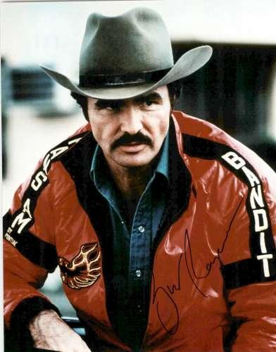 Burt Reynolds RARE Autographed
