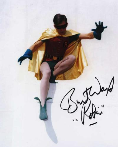 Burt Ward 'Robin' Signed Photo #2