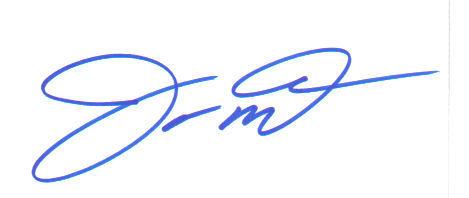 Joe Montana Great Signed Index Card!