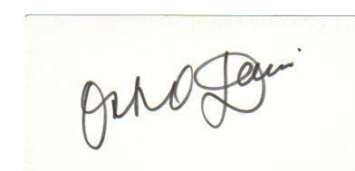 Ossie Davis (1917-2005) Vintage Signed 3X5 Index Card!