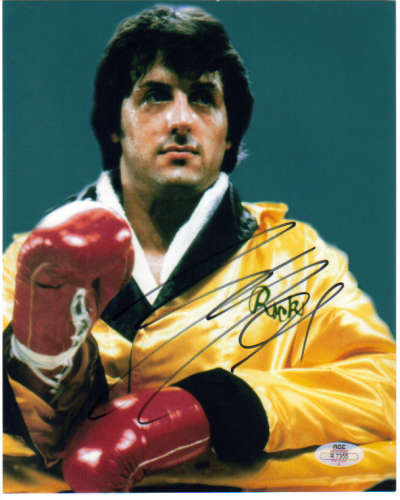 Sylvester Stallone Awesome 'Rocky' Autographed Photo!