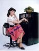 Lily Tomlin 'Ernestine' Vintage Autographed 8.5x11 Photo!