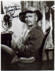 Buddy Ebsen Very Rare 'Jed Clampett' From The 'Beverly Hillbillies' Signed Photo!