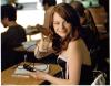 Emma Stone Pretty Signed Photo from 'Easy A'