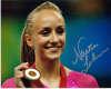 Nastia Liukin Gymnastics Champ Autographed Photo #2