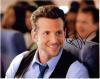 Bradley Cooper Handsome Closeup Autographed Photo!